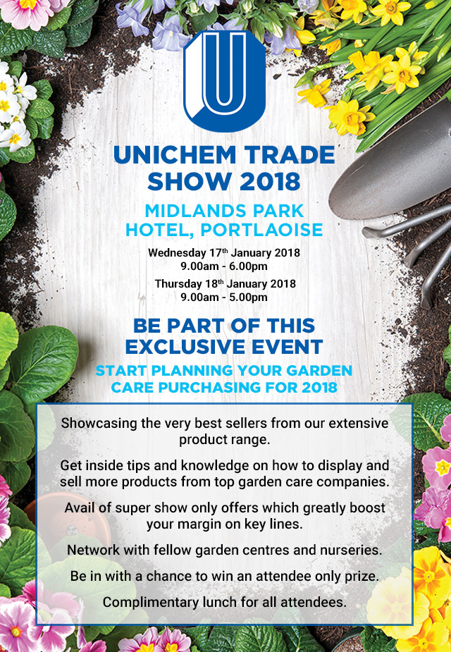 Meet 30 leading manufacturers and suppliers at this weeks Unichem