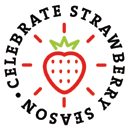 Celebrate strawberry logo
