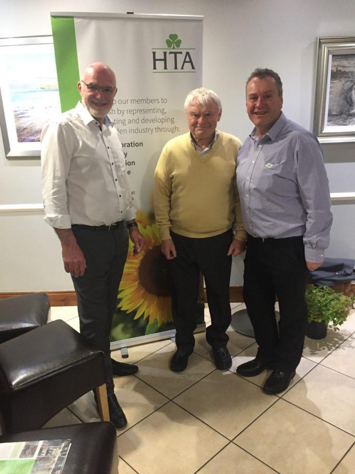 Left to Right; John Stanley, John Shannon (Inver GC & HTA Representative NI), Neil Cummings (HTA Member Support Manager)