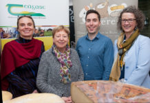Aine Macken-Walsh, Bridín McIntire, John Hyland and Maeve Henchion pictured at the general meeting of the CERERE Horizon 2020 Programme.
