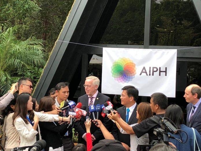 AIPH/COA COMMUNITY GARDEN OFFICIALLY OPENS FOR 2018 TAICHUNG WORLD FLORA EXPO
