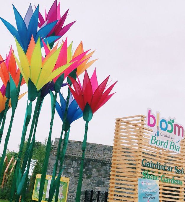 Opening Day at Bord Bia's Bloom 2019