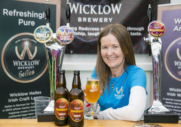 Leigh Williams, Wicklow Brewery launched 'GingerKnut' Ginger Beer which is gluten free and low in alcohol 3.4% at Bord Bia's Bloom 2019