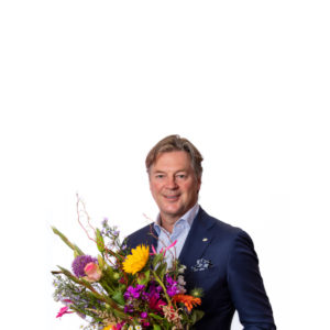 Mr Marco van Zijverden, CEO of the world's largest cooperation of flower and plant companies - the Dutch Flower Group;