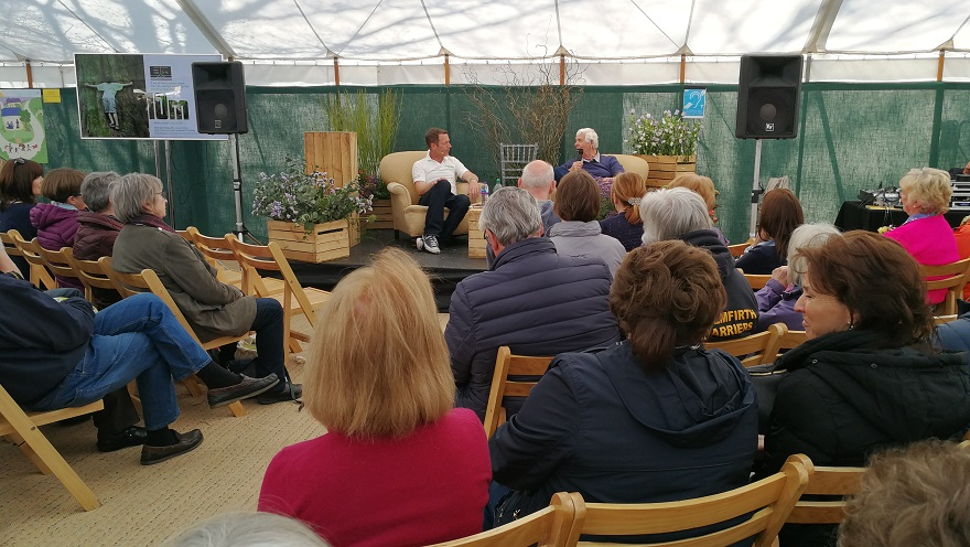 image courtesy: Tim Howell, at The RHS Talks Theatre.