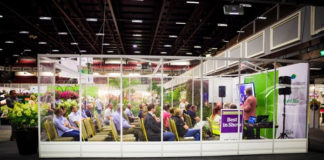 Bord Bia Learning Theatre Stage at GLAS 2019